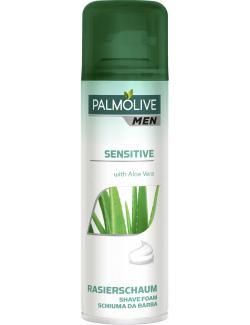 Palmolive For Men Rasierschaum Aloe Vera sensitive  (300 ml) - 8714789849195