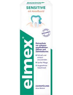Elmex Sensitive Zahnspülung  (400 ml) - 7610108059317