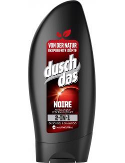 Duschdas 2in1 Noire Duschgel & Shampoo mit anregendem Parfum  (250 ml) - 8711700960656