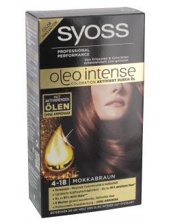 Syoss Oleo Intense Coloration 4-18 mokkabraun  (115 ml) - 4015000999663