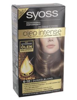 Syoss Oleo Intense Coloration 6-10 dunkelblond  (115 ml) - 4015000999700