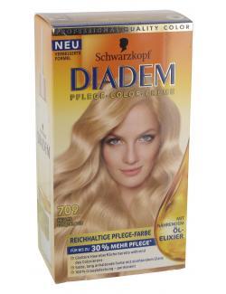 Schwarzkopf Diadem Pflege-Color-Creme 709 helles Goldblond  (142 ml) - 4015000981712