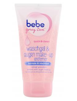 Bebe Young Care Quick & Clean Waschgel und Augen Make-Up Entferner  (150 ml) - 3574660673708