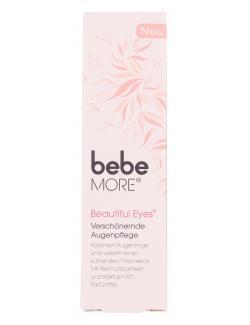 Bebe More Beautiful Eyes Augenpflege - MHD 30.11.2016  (15 ml) - 3574660648874