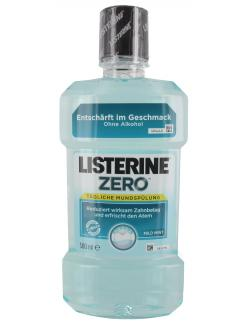 Listerine Mundsp�lung Zero  (500 ml) - 3574661026183