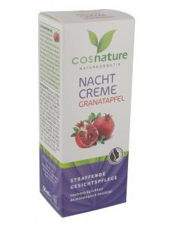 Cosnature Nachtcreme Granatapfel  (50 ml) - 4030409091039