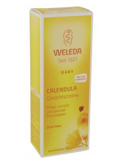 Weleda Baby Calendula Gesichtscreme  (50 ml) - 4001638096614