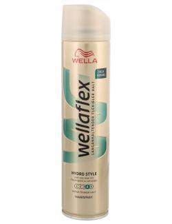 Wella Wellaflex Haarspray Hydro Style extra starker Halt  (250 ml) - 5410076958641