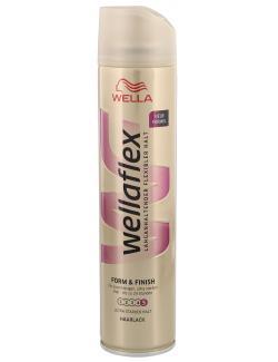 Wella Wellaflex Haarlack Form & Finish ultra starker Halt  (250 ml) - 5410076958146