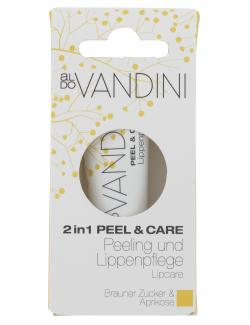 Aldo Vandini 2in1 Peel & Care Brauner Zucker & Aprikose  (10 ml) - 4003583179947
