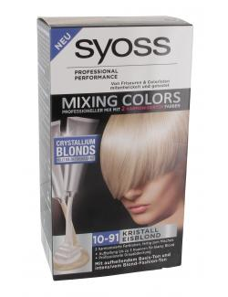 Syoss Mixing Colors 10-91 kristall Eisblond  (135 ml) - 4015000977685