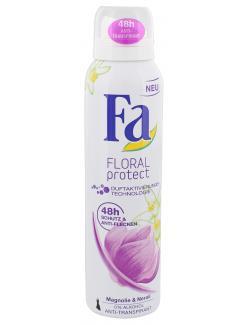 Fa Floral Protect Anti-Transpirant Magnolie & Neroli  (150 ml) - 4015000979504