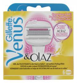 Gillette Venus & Olaz Sugarberry Duft Klingen  (6 St.) - 7702018296101