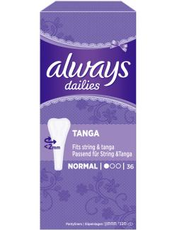 Always Twist & Flex Tanga Slipeinlagen  (36 St.) - 4015400094517