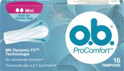 O.b. ProComfort Tampons mini  (16 St.) - 4001683001014