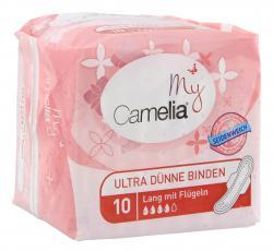 My Camelia Ultra D�nne Binden lang mit Fl�geln  (10 St.) - 4012301061105