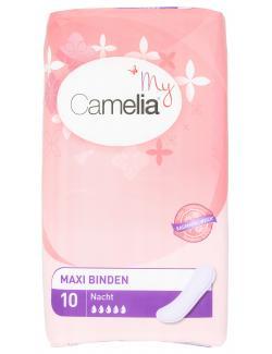 My Camelia Maxi Binden Nacht  (10 St.) - 5010081910223