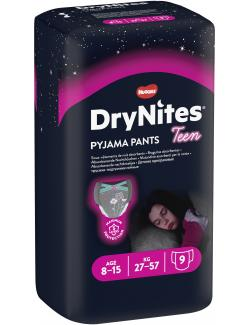 DryNites Pyjama Pants Girl 8 bis 15 Jahre  (9 St.) - 5029053527604