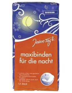 Jeden Tag Maxibinden für die Nacht  (12 St.) - 4306188052791