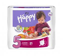Bella Baby Happy Windeln Gr. 5 Junior 12-25kg  (21 St.) - 5900516600792