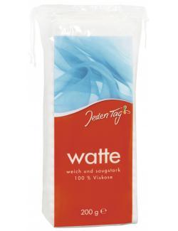 Jeden Tag Watte  (200 g) - 4306188063308