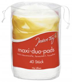 Jeden Tag Maxi-Duo-Pads  (40 St.) - 4306188062677