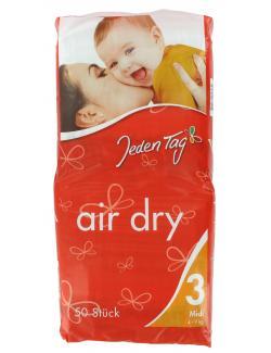 Jeden Tag Air Dry Windeln Gr. 3 Midi 4-9 kg  - 4306180058432
