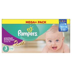 Pampers Active Fit Gr. 3 Midi 4-9kg  (100 St.) - 4015400617693