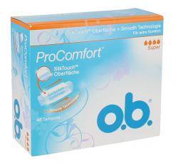 O.b. ProComfort Tampons super  (48 St.) - 3574661128603