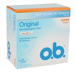 O.b. Original Tampons super  (56 St.) - 3574661128658