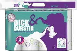 Hakle Dick & Durstig Haushaltst�cher  (4 x 45 Blatt) - 4260344220380