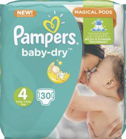 Pampers Baby Dry Gr. 4 Maxi 7-18kg  (30 St.) - 4015400696155