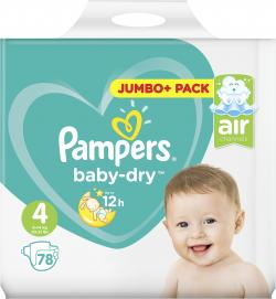 Pampers Baby Dry Gr. 4 Maxi 7-18kg  (78 St.) - 4015400695653