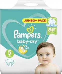 Pampers Baby Dry Gr. 5 Junior 11-25kg  (72 St.) - 4015400695691