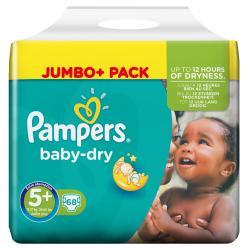 Pampers Baby Dry Gr. 5+ Junior 13-27kg  (68 St.) - 4015400695714