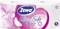 Zewa Ultra Soft Toilettenpapier 4-lagig  (2 x 150 Blatt) - 7322540737080