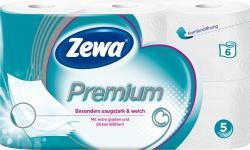 Zewa Premium Toilettenpapier 5-lagig  (6 x 110 St.) - 7322540746853