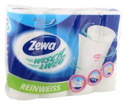 Zewa Wisch & Weg reinwei�  (4 x 45 Blatt) - 7322540767933