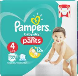 Pampers Baby Dry Pants Gr. 4 Maxi 8-15kg  (27 St.) - 4015400745006