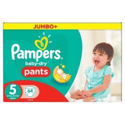Pampers Baby Dry Pants Gr. 5 Junior 12-18kg  (64 St.) - 4015400745365