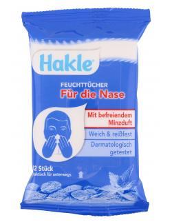 Hakle Feuchttücher für die Nase  (12 St.) - 4260344220472