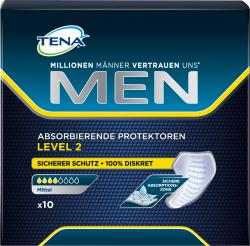 Tena Men Discreet Protection Level 2 mittel  (10 St.) - 7322540770179