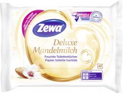 Zewa Feuchte Toilettent�cher Deluxe Mandelmilch  (42 St.) - 7322540748772