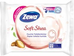 Zewa Feuchte Toilettentücher Soft Shea  (42 St.) - 7322540748802
