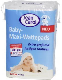 Jean Carol Baby-Maxi-Wattepads  (60 St.) - 4000576907174