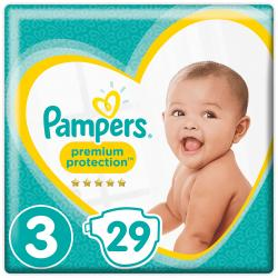 Pampers Premium Protection Gr. 3 Midi 4-9kg  (35 St.) - 4015400835936