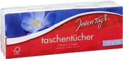Jeden Tag Taschentücher classic  (15 x 10 St.) - 4306188351481