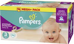 Pampers Active Fit Gr. 3 Midi 5-9kg  (100 St.) - 4015400764274