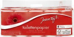 Jeden Tag Toilettenpapier 4-lagig  (10 x 160 Blatt) - 4306188352174