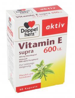 Doppelherz aktiv Vitamin E Supra 600 Kapseln  (40 St.) - 4009932004199